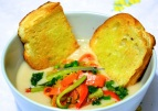 cannellini soup with vegetables