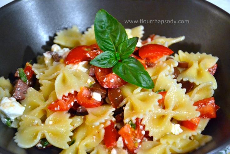 greek style pasta